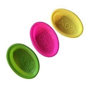 Fashionwu Molde de jabón de Silicona Reutilizable Hecho a ...