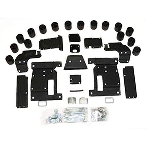 Performance Accessories, Dodge 1500 Gas 2WD and 4WD 3″ Body Lift Kit, fits 2006 to 2008, PA60173, Made in America