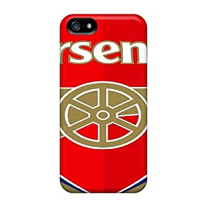 Protective Hard Phone Cover For Iphone 5/5s (VBK13443dwHV) Customized Trendy Arsenal Pattern