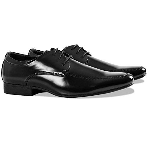45 Vestir Botas Negros Para Zapatos Vestir vidaXL Negocios Vestir Mocasines de 40 Zapatos Marrón Hombre Zapatos de Talla Negro de Camel CaxwxdqH7