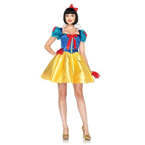 Morris Snow White Costumes (Classic Snow White Costume - Small/Medium - Dress Size 4-8)