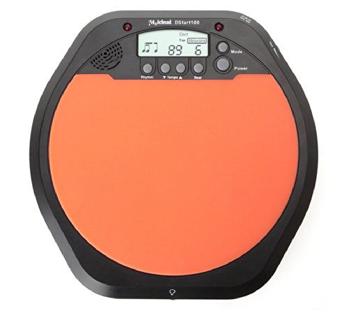 Digital Electric Electronic Drum Simulation Pad Device for Beginner Training Practice Metronome with Retail Package + a Keychain