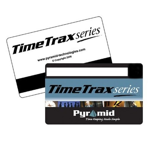 Pyramid PTI41306 Time Recorder Swipe Cards, Numbered 151-200, TimeTrax Systems, 50 Per Pack