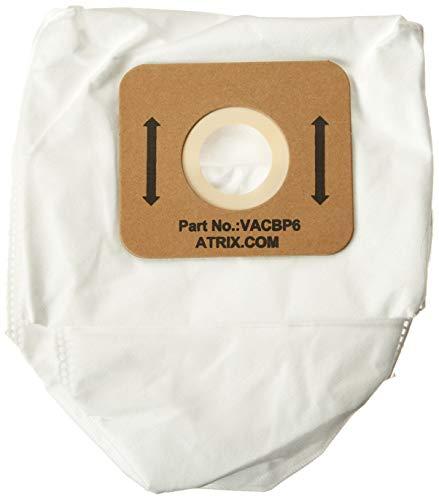 Atrix - VACBP610P Vacuum Filters - Backpack Vac 8-Quart Replacement HEPA Filters (10-Pack)