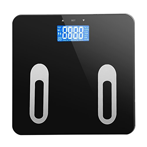Doatry Premium Smart Scale - Body Fat Scale & Body Composition Monitor with Extra Large Display