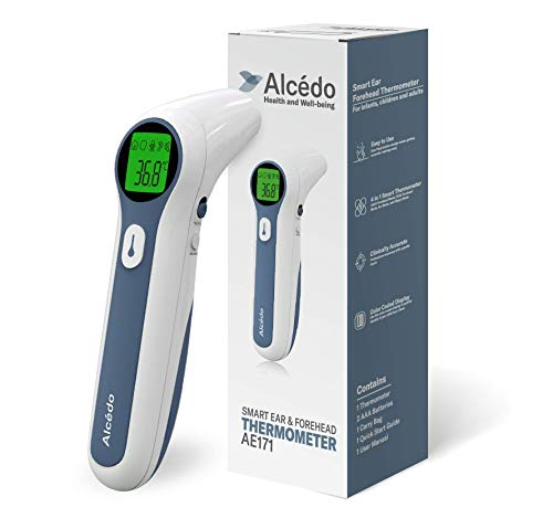 Baby Thermometer for Fever by Alcedo | Digital Forehead and