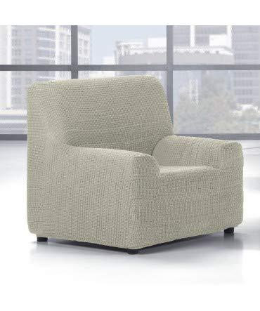 10XDIEZ Funda Sofa 1 Plaza Glamour - Color - Beige: Amazon ...