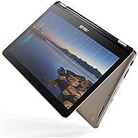 Notebook Computer ASUS Transformer Book Flip TP301UA 13.3 Ultra Slim 2-in-1 Full HD Touchscreen, Intel Core i5-6200U 2.3GHz, 6GB RAM, 256GB SSD, Windows 10, Icicle Gold