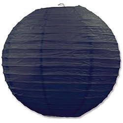 Beistle 54570-BK 3-Pack Paper Lanterns, 9-1/2-Inch