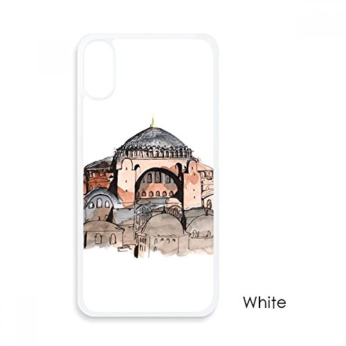 bo02 Turkey Hagia Sophia Istanbul For iPhone XS Cases White Phonecase Apple...