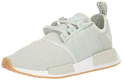 adidas Originals Men's NMD_R1 Running Shoe, Linen Green/Linen Green/ice Mint, 13.5 M US