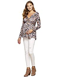 Jessica Simpson Off The Shoulder Maternity Top