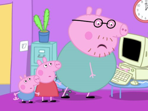 Mummy Pig at Work/Piggy in the -