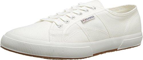 Superga Unisex 2750 Cotu  White Classic Sneaker – 35 M EU / 5 B(M) US Women / 3.5 D(M) US Men For Sale