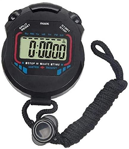 GLLP Elektronische Stopwatch Multifunctionele Waterdichte Sport Stopwatch Sport Running Fitness Games Timer (4 Stks)