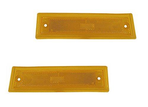 Chevrolet C10 Side Marker (QP G1125/6-a Chevrolet C10 K10 CK10 C-10 K-10 CK-10 CK Pickup Passenger/Driver Side Marker Light Pair)