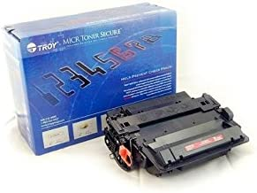 Part Number 02-81600-001 Compatible with HP LaserJet P3015 Printer 6,000 Yield TROY TROY P3015 MICR Toner Cartridge