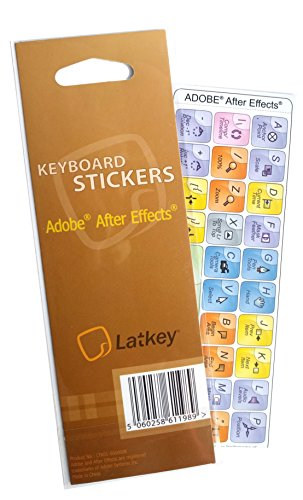- Keyboard Shortcuts for Adobe AfterEffects (Hokeys on Editing Keyboard)