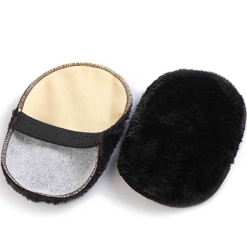 Crazy nuts Imitation Wool Shoes, polishing Gloves, Shoe Polish Brush, Oil Brush