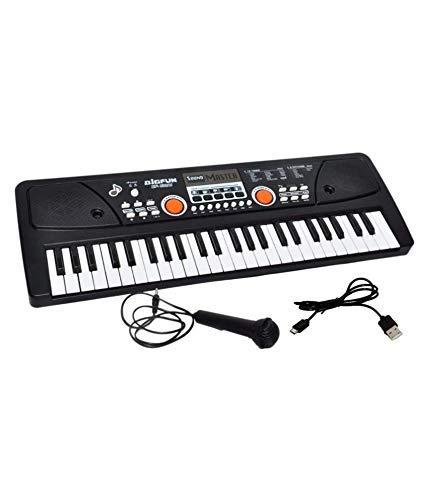 BabyBaba 49 Key Electronic Musical Piano Keyboard with Adaptor