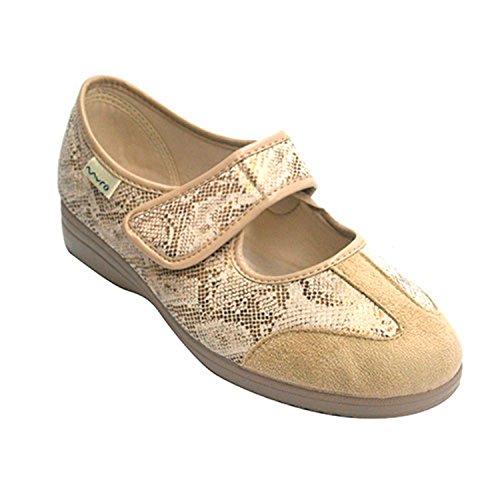Mary Jane chaussures femme Muro en beig