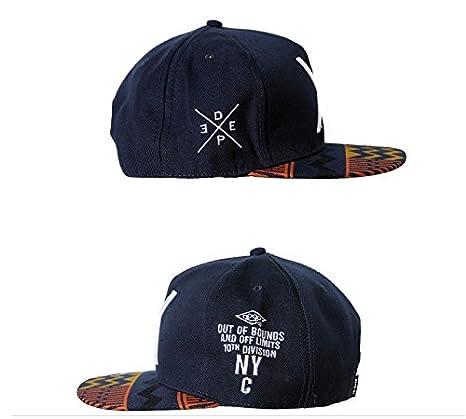 Malloom 2016 nuevo Hip-Pop letra X sombrero plano Baseball gorra hip-hop gorra: Amazon.es: Deportes y aire libre