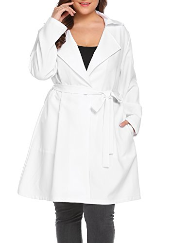 White Dress Coat - 6