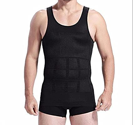 0e85cadf055 Image Unavailable. Image not available for. Color  Men Body Slimming Tummy  Shaper Belly Underwear shapewear Waist ...