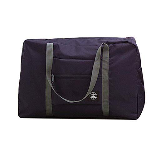 Gemini_mall Duffel Holdall Bag Lightweight Luggage Waterproof Tote Bag Cargo Bag Foldaway Storage Bag for Travel Camping…