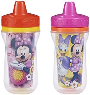 The First Years 9oz Minnie Mouse Insulated Cup (Pack of 2)