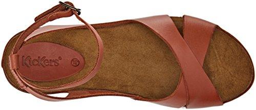 Camel Sandalen Kickers 50 Damen 609540 wqppZSx7I