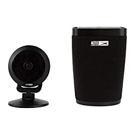 Altec Lansing Voice Activated Smart Security System, Includes Google Live Speaker and Panoramic HD Camera, Built in Google Assistant, Two Way Intercom, ASH-100