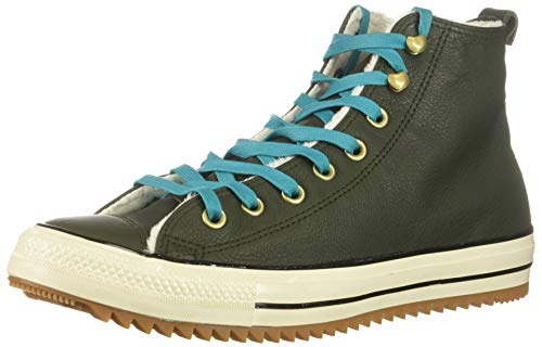 Converse Chuck Taylor All Star Hiker Boot Sneaker, Utility Green/Rapid Teal, 6 M US