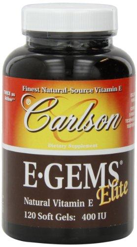 Carlson E-gems Elite 400 IU,120 Softgels