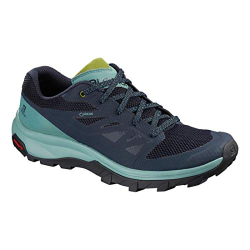 Salomon Gtx Femme Chaussures Outline Blue X8RFAwHqRx