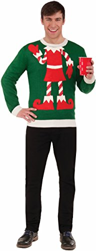 Forum Elf Ugly Christmas Sweater, Multi,