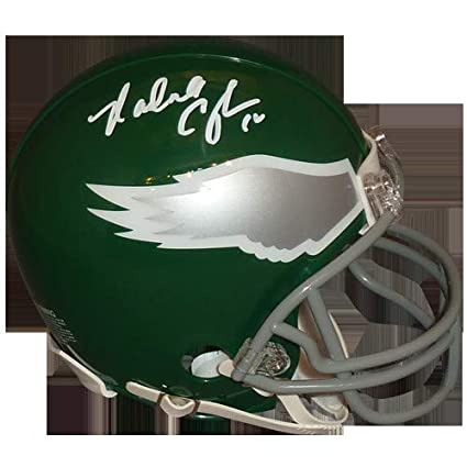 the latest f54f8 dc6dd Amazon.com: Randall Cunningham Autographed Signed Auto ...