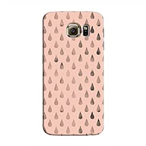 Cover It Up - Raindrops Pink Galaxy S6 Edge Plus Hard Case