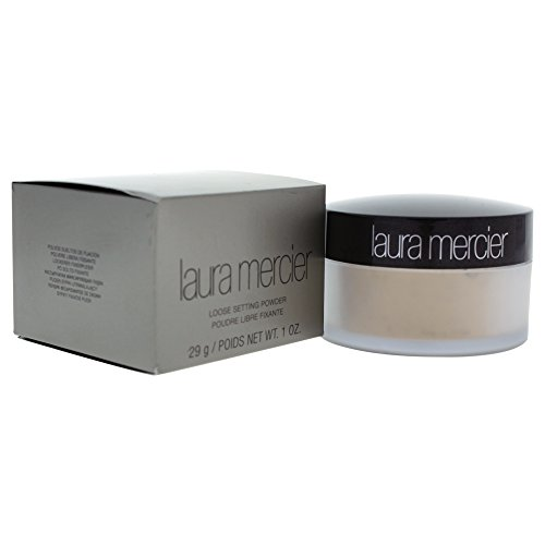 Laura Mercier Loose Setting Powder, Translucent, 1 Ounce (Laura Mercier Loose Setting Powder Translucent)