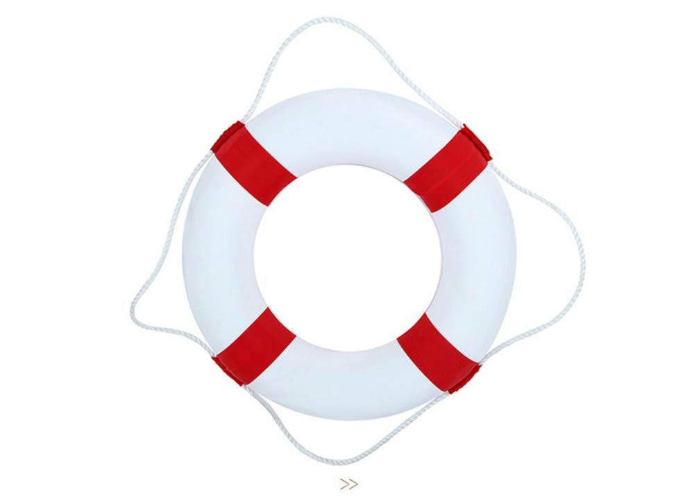 50cm Diameter Child Adult Swim Foam Ring Buoy Swimming Pool Life Preserver for Outdoor Travel and Hoom by Bonlting