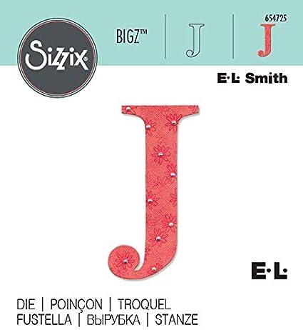 Smith Gro/ßbuchstaben Buchstabe A von E.L Sizzix Bigz Das Sassy Alphabet