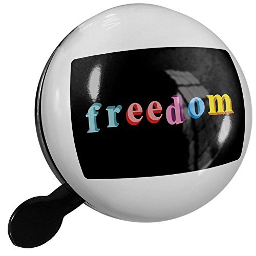 Small Bike Bell Freedom Colorful Letters - NEONBLOND by NEONBLOND
