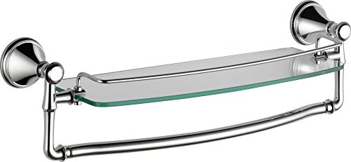 Delta Faucet 79710 Cassidy 18-Inch Glass Shelf