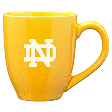 University of Notre Dame - 16-ounce Ceramic Coffee Mug - Gold