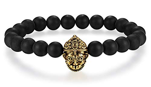 Hanuman Hindu God of Strength and Courage Energy Beads Bracelet 8mm