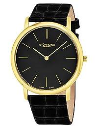 Stuhrling Original Men's Classic Swiss Ascot Watch Black 601.33351