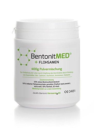 Bentonite MED® + Psyllium seed, 400g powder mix