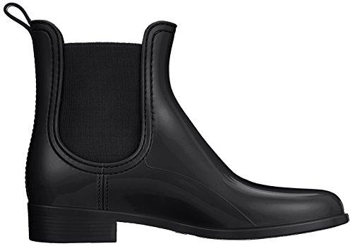 Lemon Noir Femme Black 01 Jelly Comfy Boots Chelsea CnxBfqC