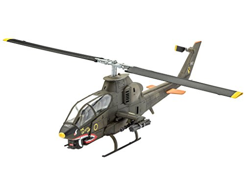 Revell Germany Bell AH-1G Cobra Model Kit Building