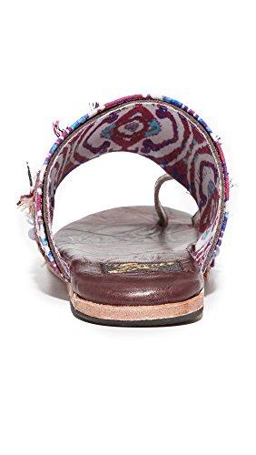 Freebird Por Steven Mujeres Lava Sandals Wine Multi